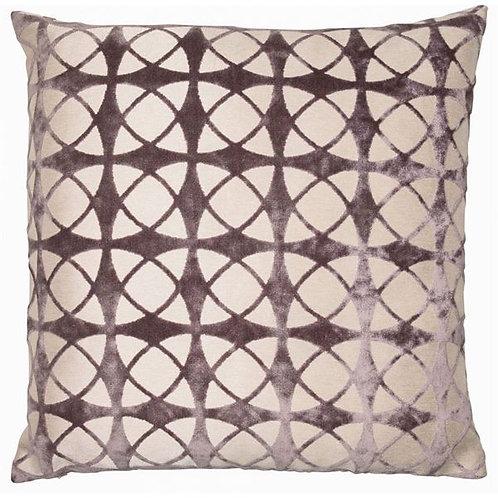 Large Spiral Grey Cushion