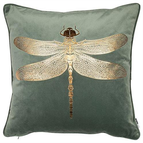 Dennis Dragonfly Velvet Cushion