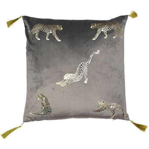 Feline Grey Cushion
