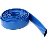 tuyau-plastique-bleu-plat-de-refoulement