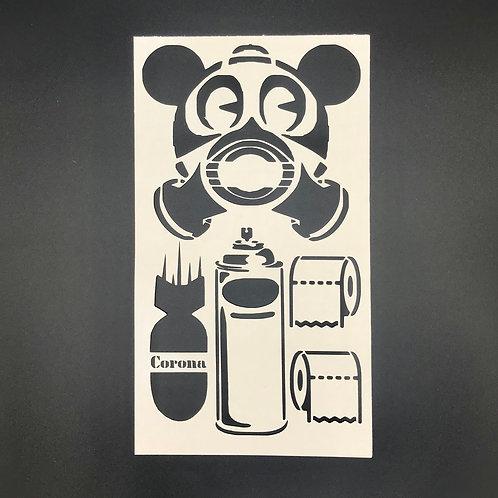 Covid Stencil
