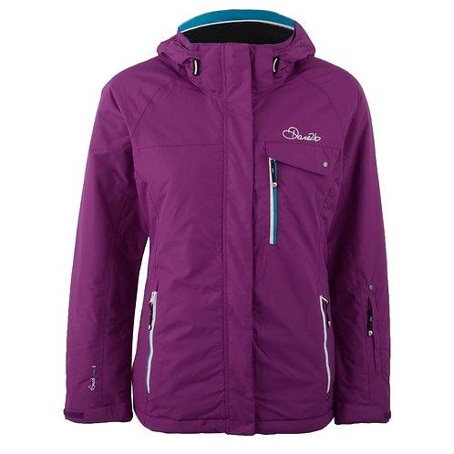 Dare2b Breathtaker Ski Jacket Purple (size 24-30)