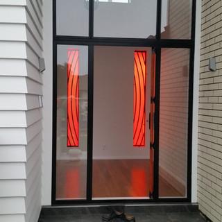 Illuminated Glass Panels - Entry