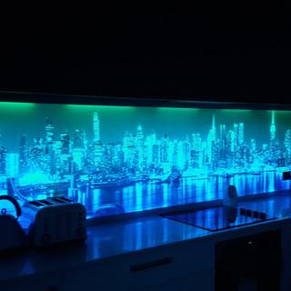 Illuminated Splashback