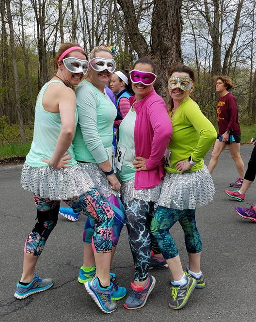 Girls Just Wanna Run costumes