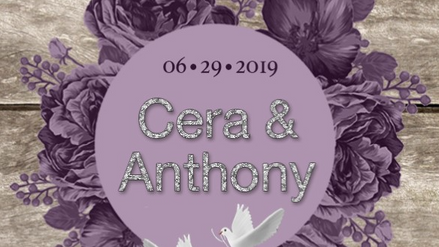 Cera & Anthony's Wedding