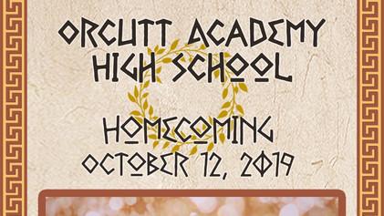 OAHS Homecoming 10/12/19