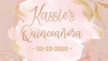 Kassie's Quinceañera