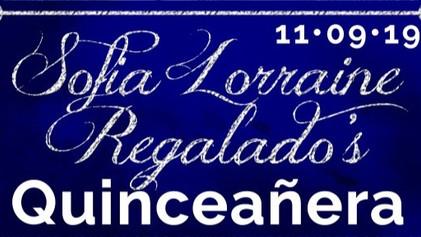 Sofia's Quinceanera 11-09-19