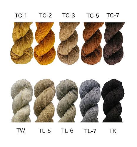 つづれ用 紡毛糸1/3  no.3