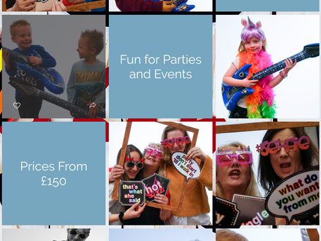 Kids & Adult Studio Photo Booth from £150
