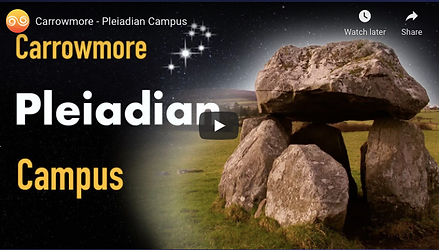 Carrowmore Pleiadian Campus video cover.