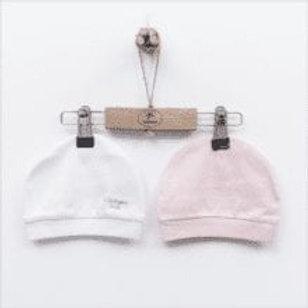 KITIKATE HATS   WHITE & PINK