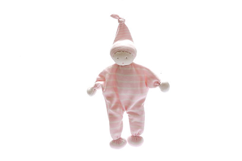 FAIR TRADE ORGANIC COTTON BABY COMFORTER PINK