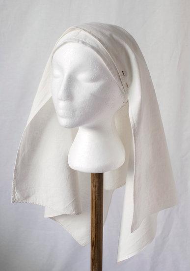Hemp silk veil