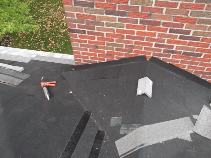 Roof work completed by HIC