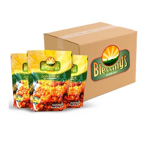 Blessing's Foods Jollof Pack (Case)