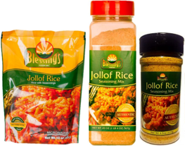 Blessings's Foods Jollof Rice Seasoning Mix Products