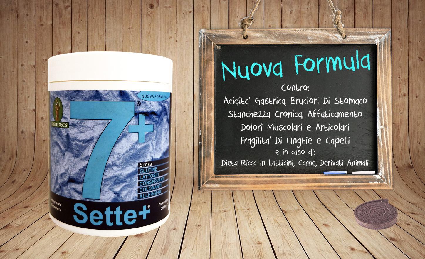 Sette+ Nuova Formula