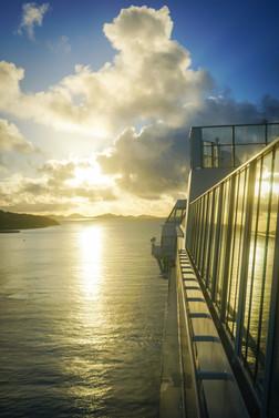 Sunrise Cruise Views
