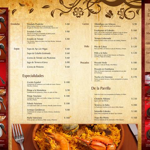 Diseño de menú (QR)