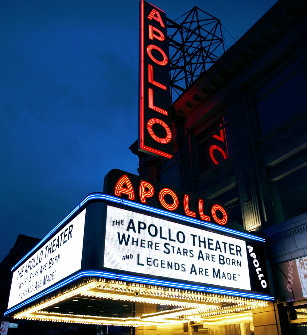 The world-famous Apollo Theater