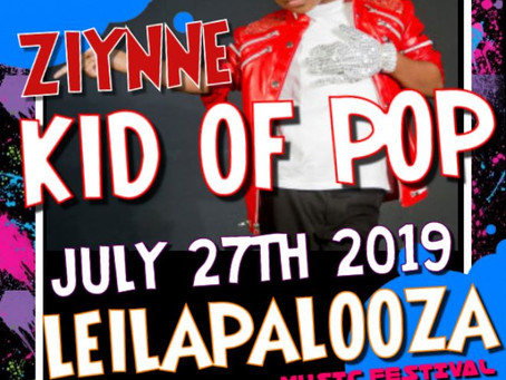 The Kid of Pop Set To Rock Leilapalooza