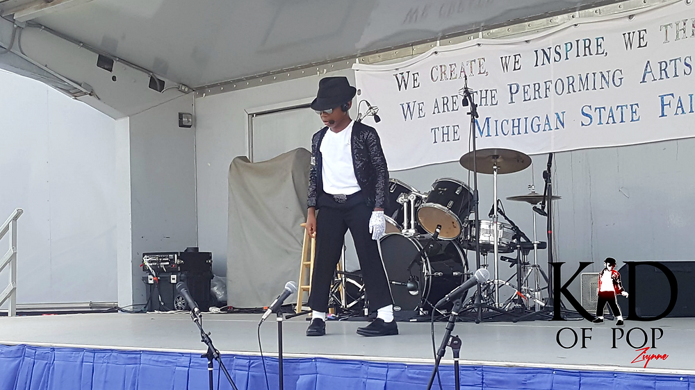 Ziynne - Kid of Pop Performs at the 2018 Michigan State Fair