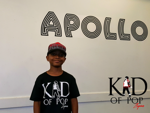 Ziynne - Kid of Pop at the Apollo Theater Preparing to Perform