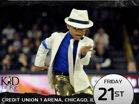 The Kid of Pop Set to Rock Halftime at UIC