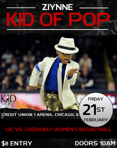Ziynne - Kid of Pop Set to Rock Halftime at UIC
