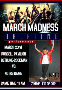 Ziynne - Kid of Pop Set to Perform during NCAA March Madness