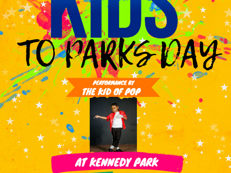 The Kid of Pop to Headline National Kids to Parks Day
