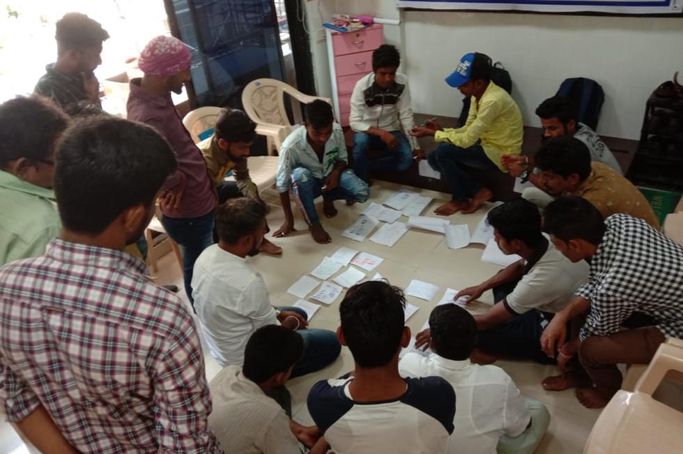 1 - Workshop organised by Prayas with re