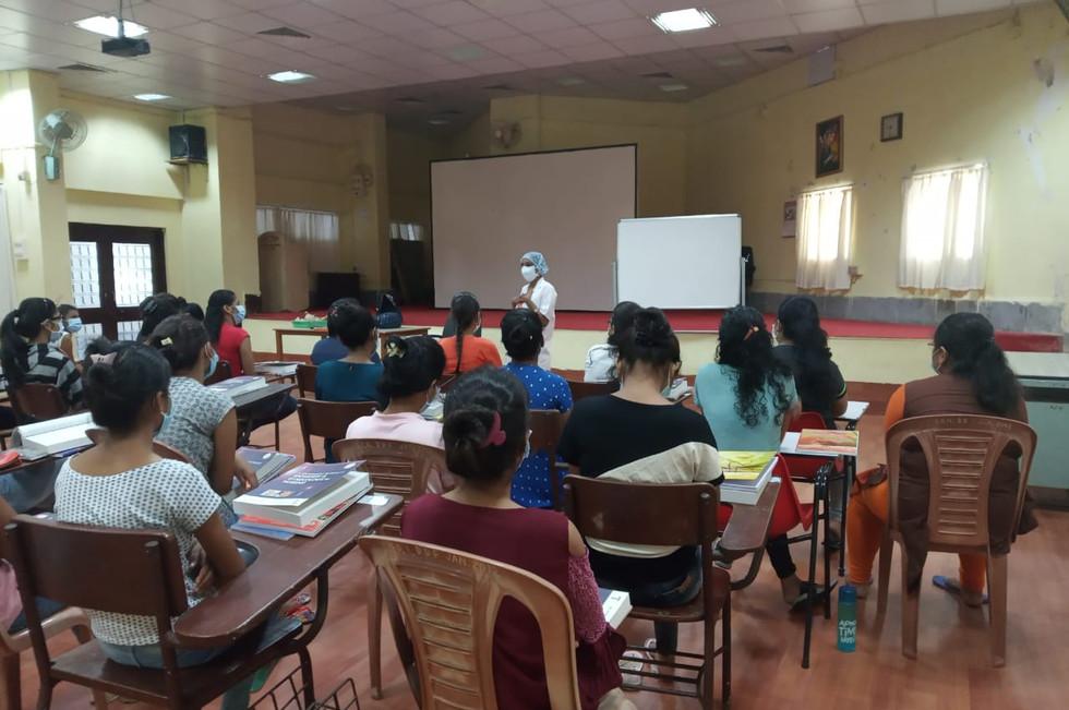 Training session on gender-based violenc