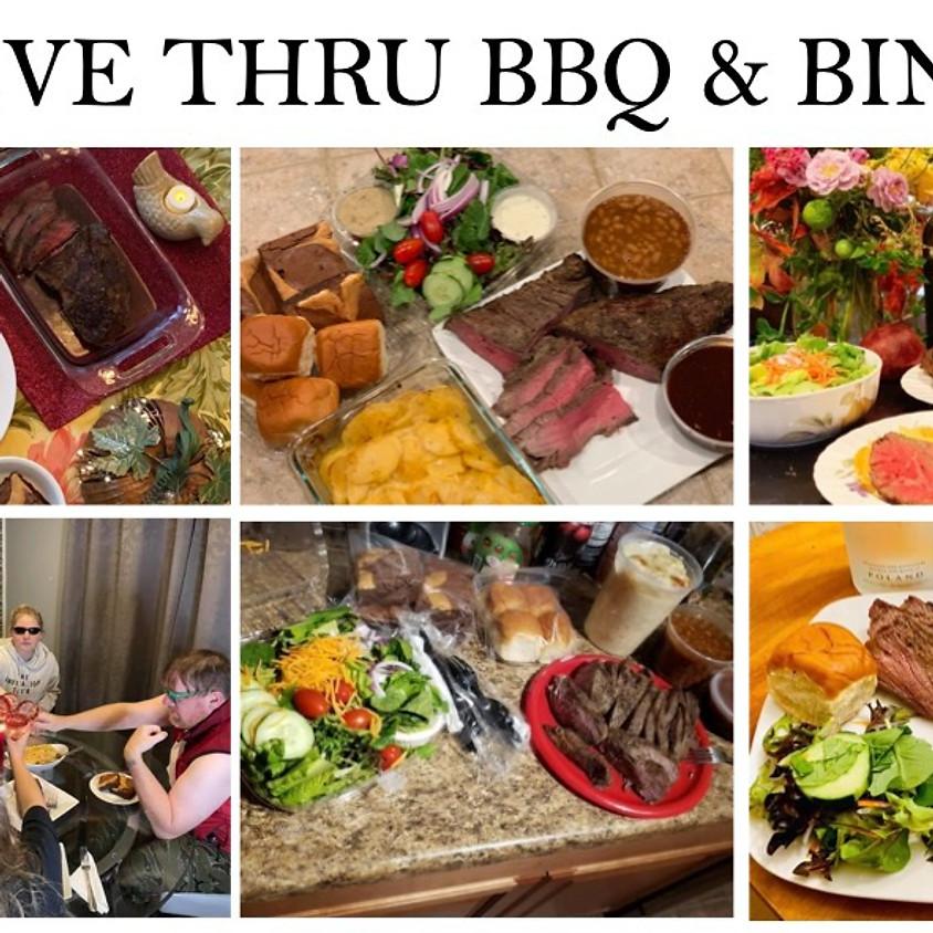 Drive Thru BBQ Tri-Tip Dinner and Online BINGO!