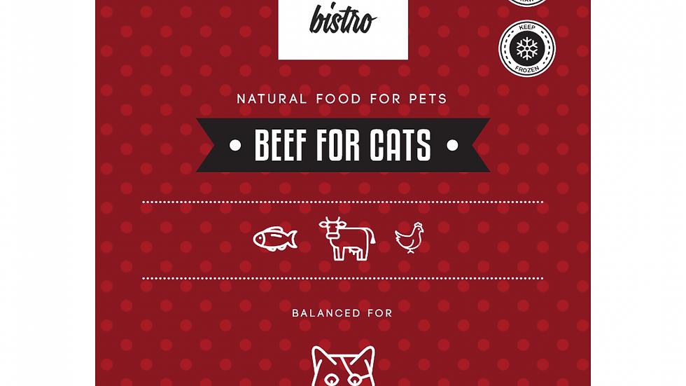 FOR CATS - porcionēta, sabalansēta - LIELLOPS