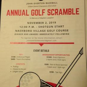 2019 Annual Golf Scramble
