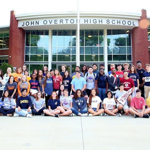 OVERTON GRADS AWARDED MORE THAN $9.8 MILLION FOR COLLEGE