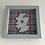 Thumbnail: Love Scotland Tartan Textile | 15cm Green