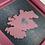 Thumbnail: Love Scotland Tartan Textile | 15cm Berry