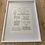 Thumbnail: New Baby Print | Framed