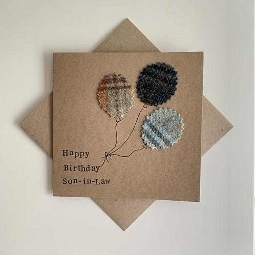 Birthday Textile Card