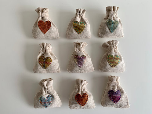 Lavender Linen Bag