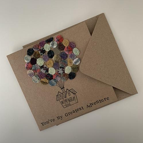 Bespoke Textile Card