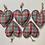 Thumbnail: Tartan Hanging Heart