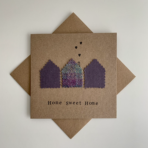 New Home Textile Card