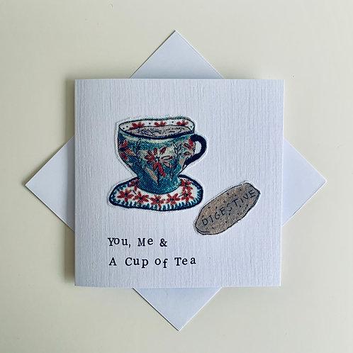 Friendship Textile Card