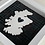 Thumbnail: Love Scotland Tartan Textile | 15cm White