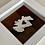 Thumbnail: Love Scotland Tartan Textile   10cm White